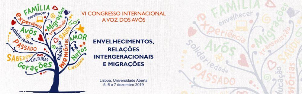 VI Congresso Internacional: A Voz dos Avós